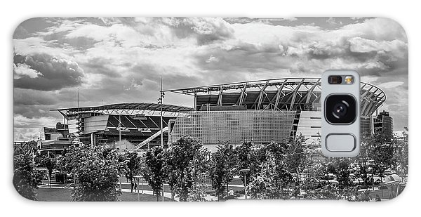 Paul Brown Stadium Black And White Galaxy Case by Scott Meyer