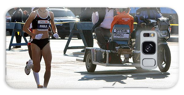 Paula Radcliffe 2007 Ing Nyc Marathon 2 Galaxy Case by Terry Cork