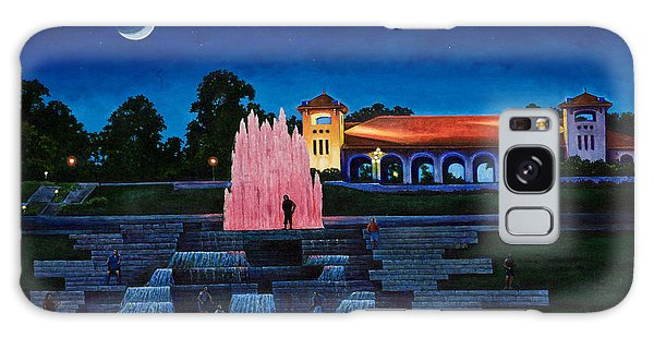 Pavilion Fountains Galaxy Case by Michael Frank