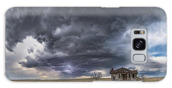 Pawnee School Storm Galaxy Case by Darren White