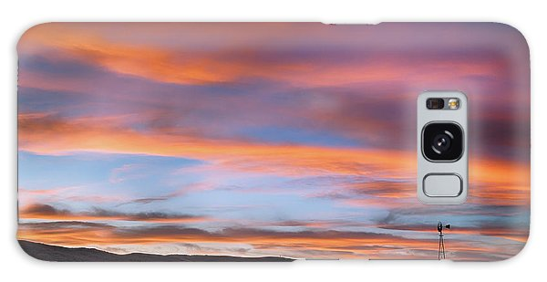 Pawnee Sunset Galaxy Case by Monte Stevens