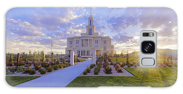 Temple Galaxy Case - Payson Temple I by Chad Dutson