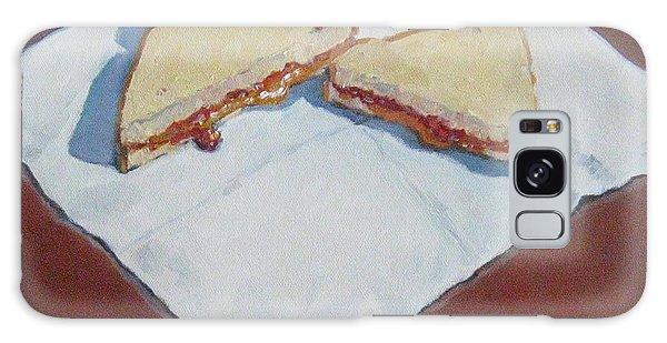 Pb And J On Napkin Galaxy Case by Jennifer Boswell