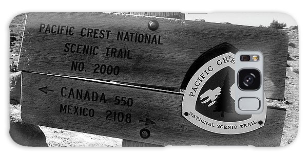 Pct Scenic Trail Galaxy Case