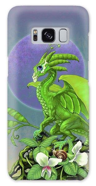 Pea Pod Dragon Galaxy Case by Stanley Morrison