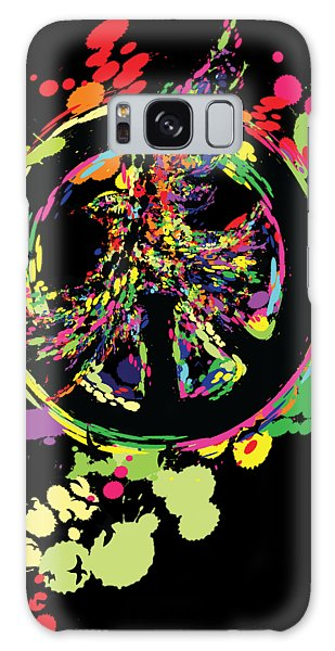 Olive Branch Galaxy Case - Peace And Peace by Cindy Shim