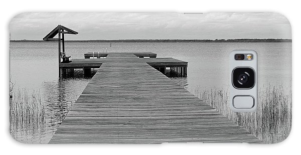 Peace And Serenity II-black And White Galaxy Case by Suzanne Gaff