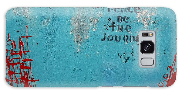 Peace Be The Journey Galaxy Case