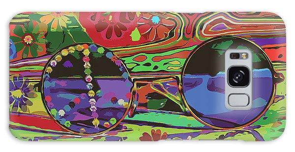 Galaxy Case featuring the digital art Peace Art by Eleni Mac Synodinos