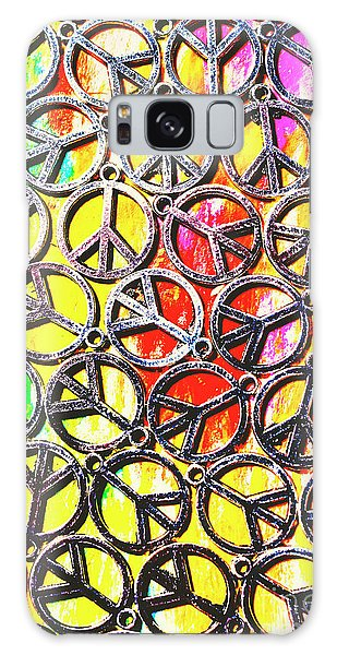 Peace Galaxy Case - Peace In All Colours by Jorgo Photography - Wall Art Gallery