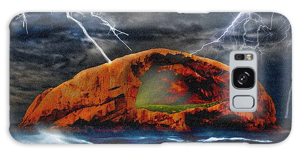 Wilsons Promontory Galaxy Case - Peace In The Cleft In The Midst Of The Storm by Chas Sinklier