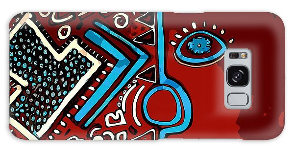 Peace Pipe Galaxy Case