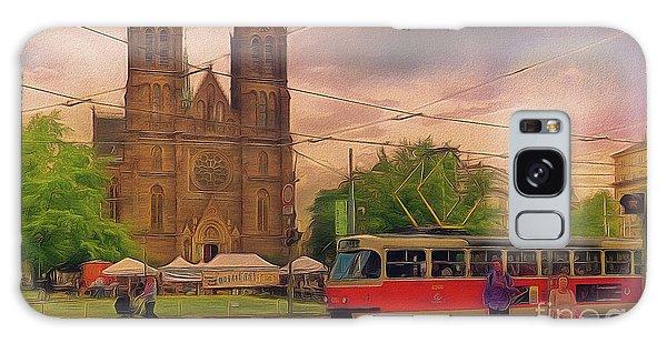 Peace Square Prague Galaxy Case