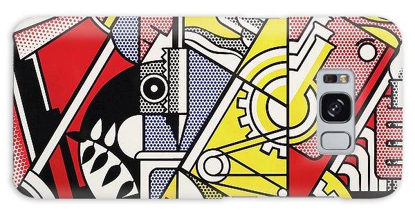 Peace Through Chemistry I Galaxy Case by Roy Lichtenstein