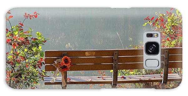 Peaceful Bench Galaxy Case by George Randy Bass