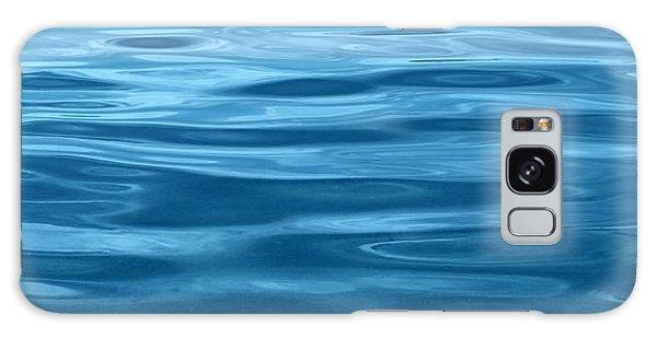 Peaceful Blue Galaxy Case