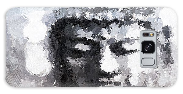 Buddha Galaxy Case - Peaceful Buddha- Art By Linda Woods by Linda Woods