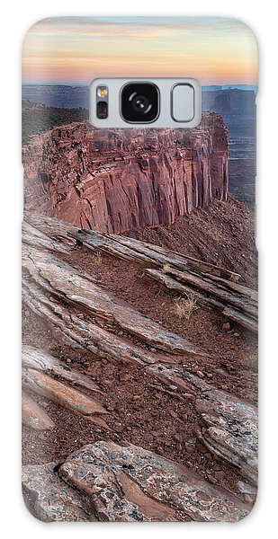 Peaceful Canyon Morning Galaxy Case