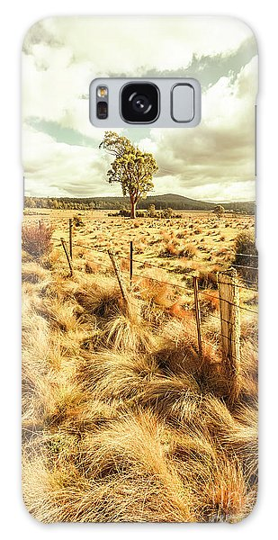 Scenery Galaxy Case - Peaceful Country Plains by Jorgo Photography - Wall Art Gallery
