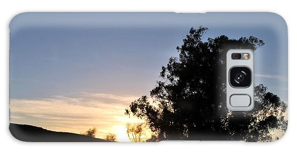 Galaxy Case featuring the photograph Peaceful Country Sunset  by Matt Harang