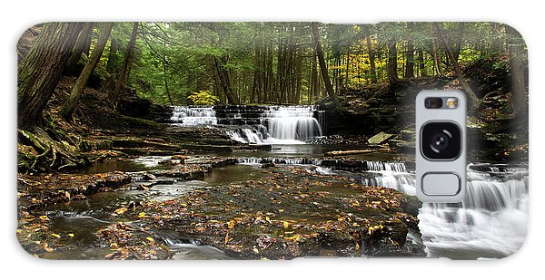 Peaceful Flowing Falls Galaxy Case