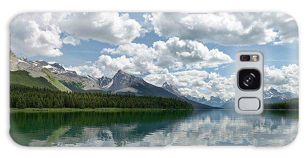 Peaceful Maligne Lake Galaxy Case by Sebastien Coursol