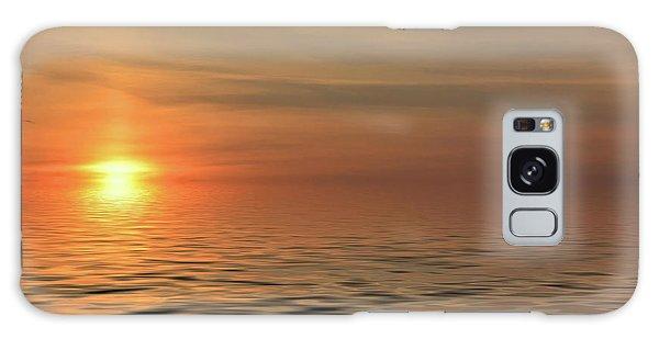 Peaceful Sunrise Galaxy Case