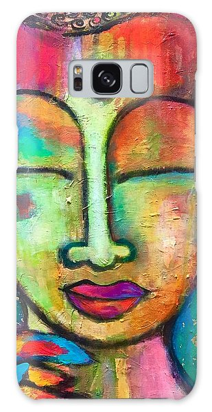 Peaceful Warrior  Galaxy Case