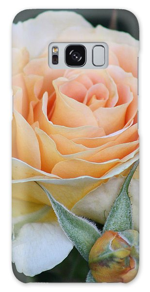 Peach Rose 2 Galaxy Case