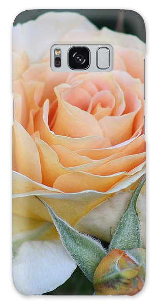 Peach Rose 2 Galaxy Case