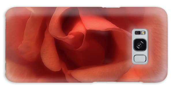 Peach Rose Galaxy Case by Scott Kingery