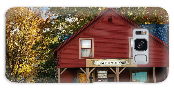 Galaxy Case featuring the photograph Peacham Vermont General Store by Expressive Landscapes Fine Art Photography by Thom