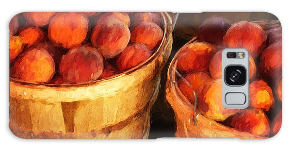 Peaches By The Bushel  Galaxy Case