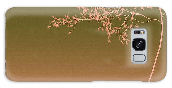 Olive Branch Galaxy Case - Peach Tree by Susan Maxwell Schmidt