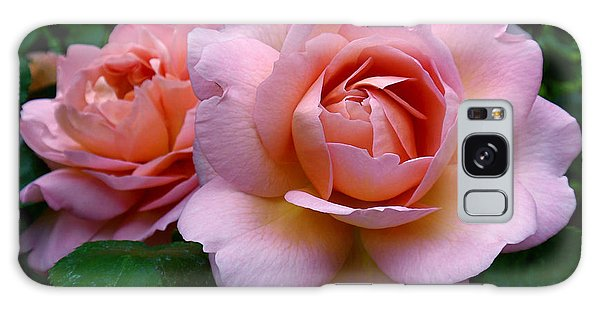 Peachy Pink Galaxy Case