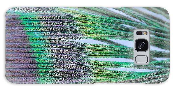 Peacock Abstract Galaxy Case