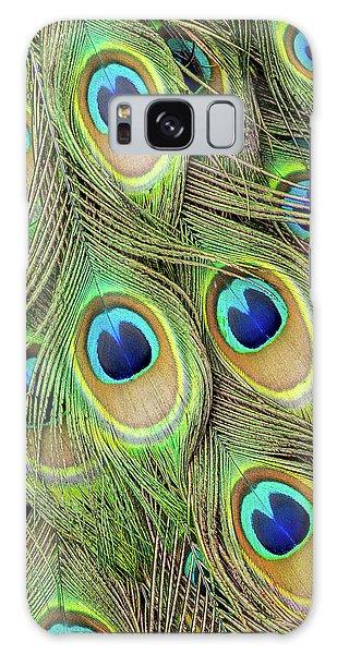 Living Peacock Abstract Galaxy Case