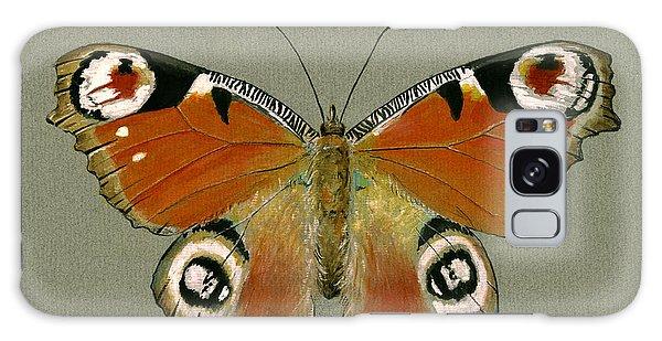 Peacocks Galaxy Case - Peacock Butterfly by Juan Bosco