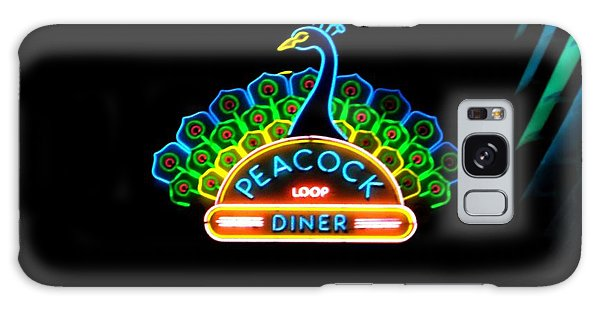Peacock Diner In The Loop Galaxy Case