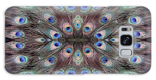 Peacock Eye Kaleidoscope Galaxy Case