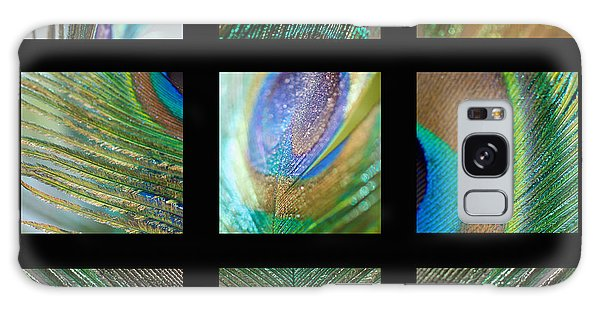 Peacock Feather Mosaic Galaxy Case