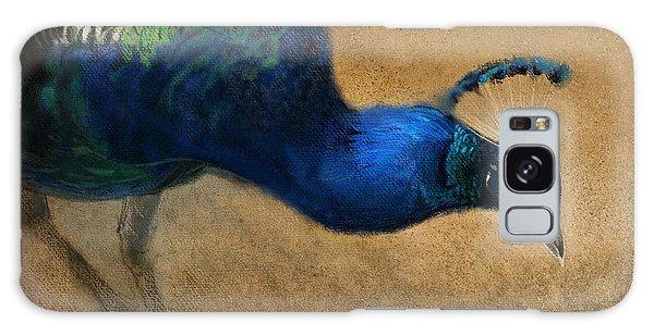 Peacocks Galaxy Case - Peacock Light by Aaron Blaise