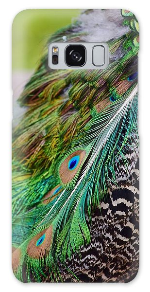 Peacock Galaxy Case