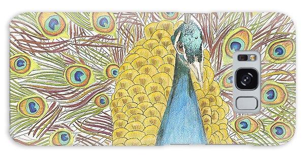 Peacock One Galaxy Case
