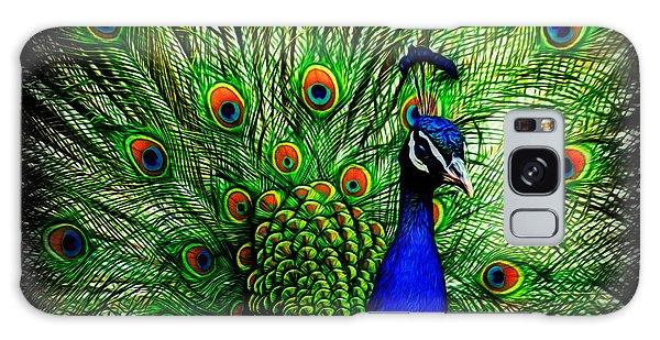 Peacock Paradise Galaxy Case