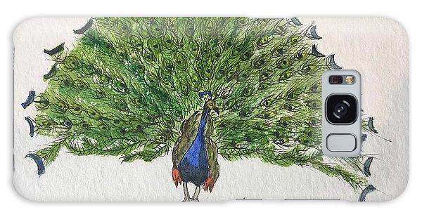 Peacock Galaxy Case