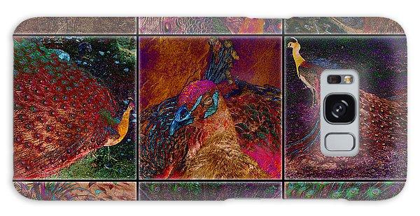 Peacocks Galaxy Case