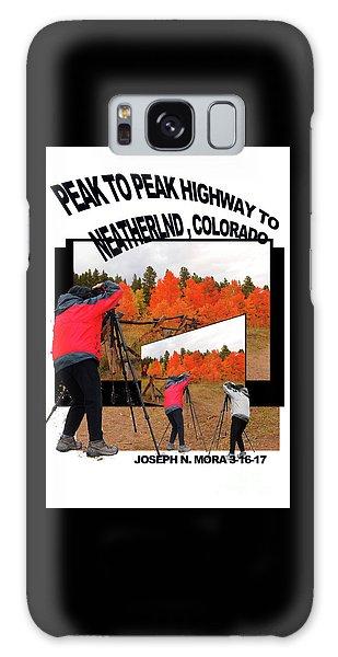 Peak To Peak Highway Galaxy Case