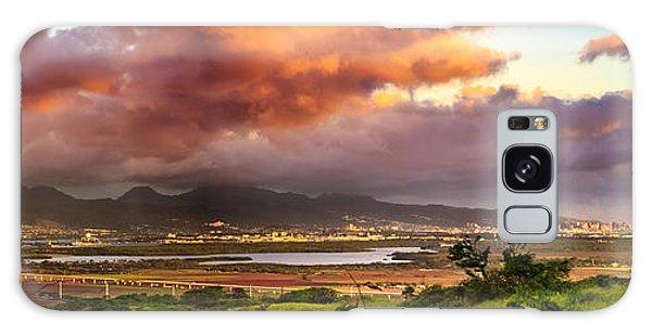 Pearl Harbor Sunset Galaxy Case