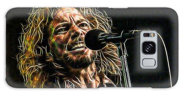 Pearl Jam Eddie Vedder Collection Galaxy Case by Marvin Blaine